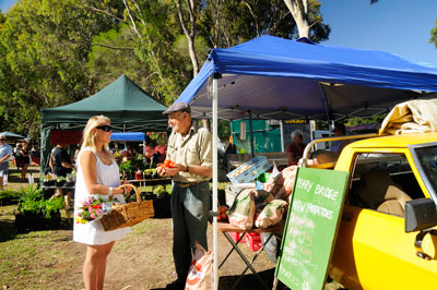 Perry Bridge Farmers Market, Gippsland