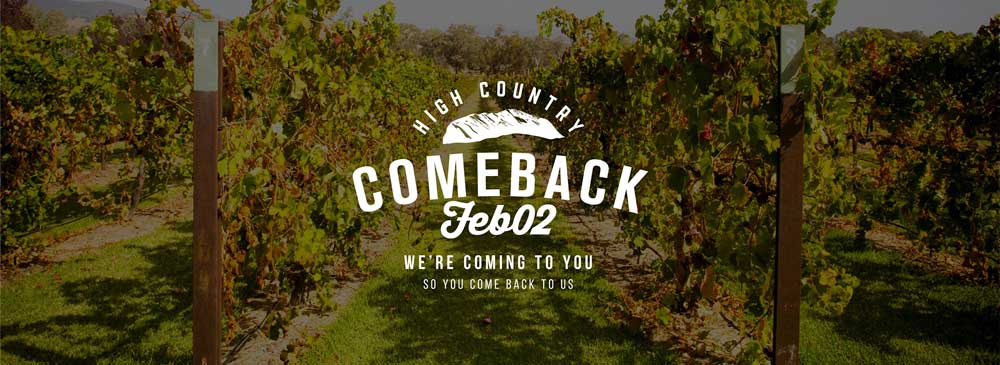 High Country Comeback promotional banner