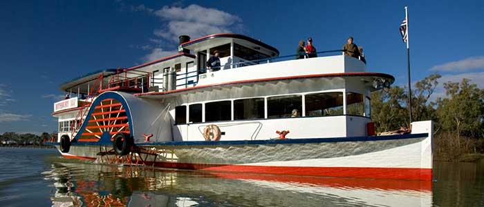A Mildura riverboat