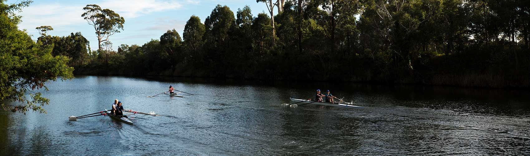 Rowing in East Gippsland