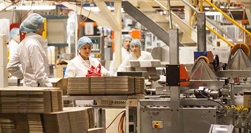 Confectionary manufacturing
