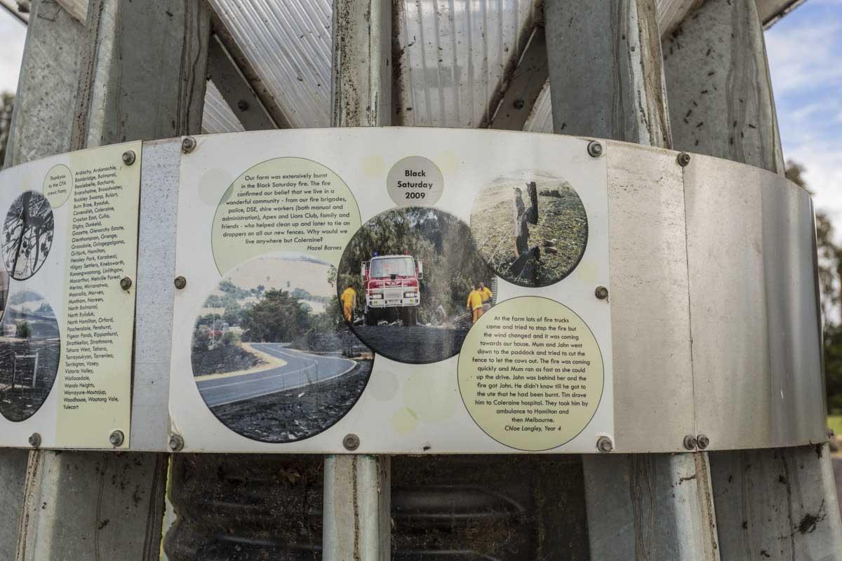 Southern Grampians Shire, East Park roadside stop memorial