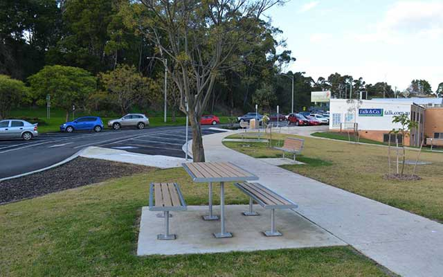 public open space and pedestrian access