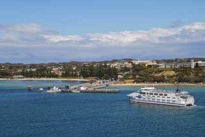 Queenscliffe - Sorrento ferry off Sorrento Pier