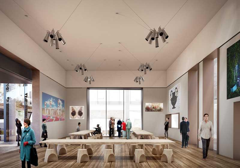 Architectural concept for the Ballarat GovHub