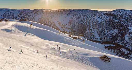 Snowboarding at Mount Hotham
