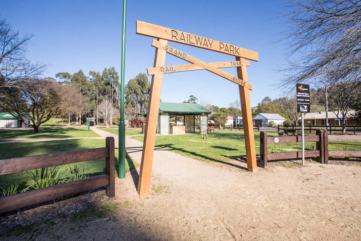 Latrobe City, Boolarra Community Memorial – Entrance to Grand Ridge Trail