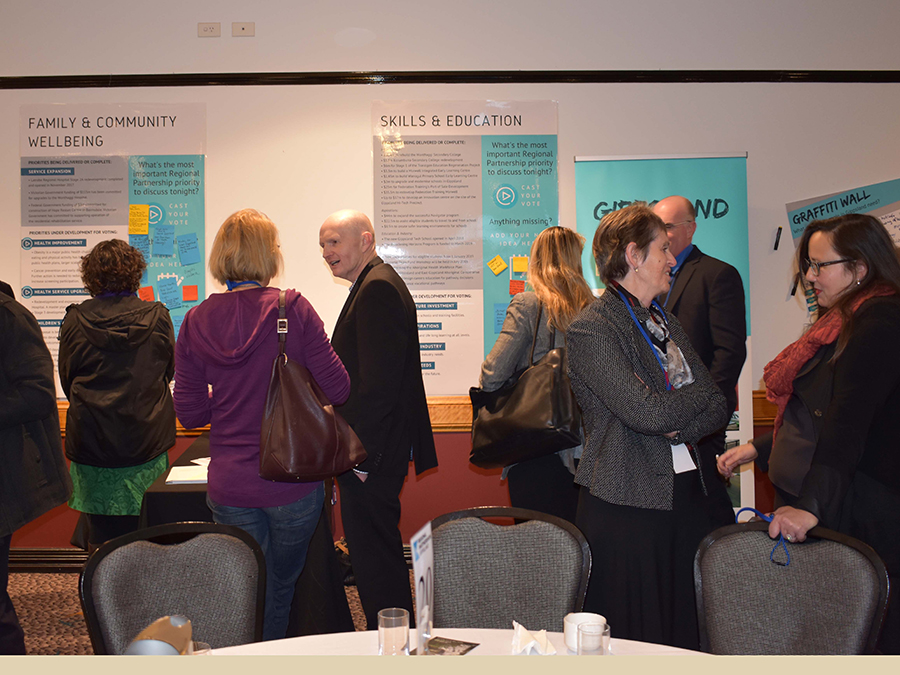 Gippsland Regional Assembly 2018 group discussions