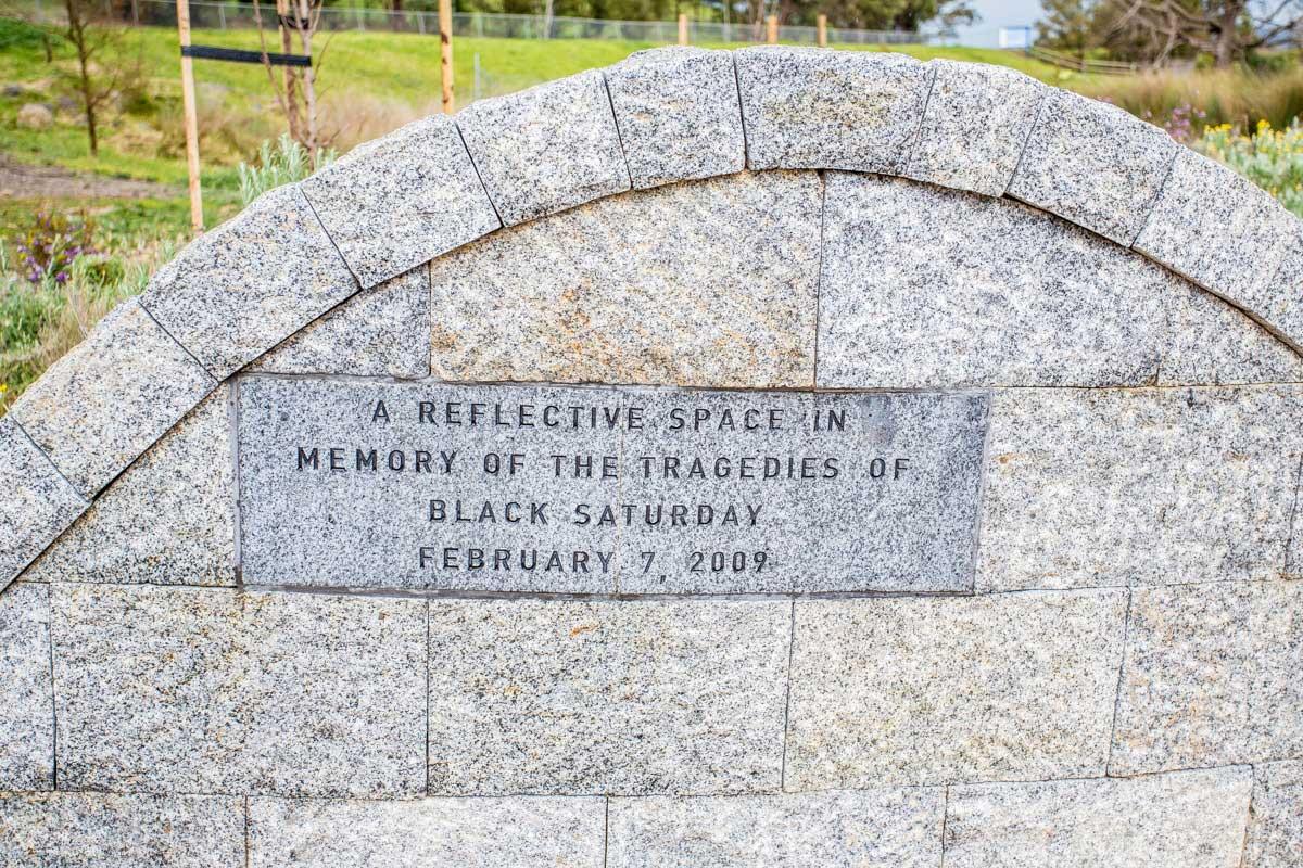 Whittlesea Memorial, Toorourong Reservoir Park